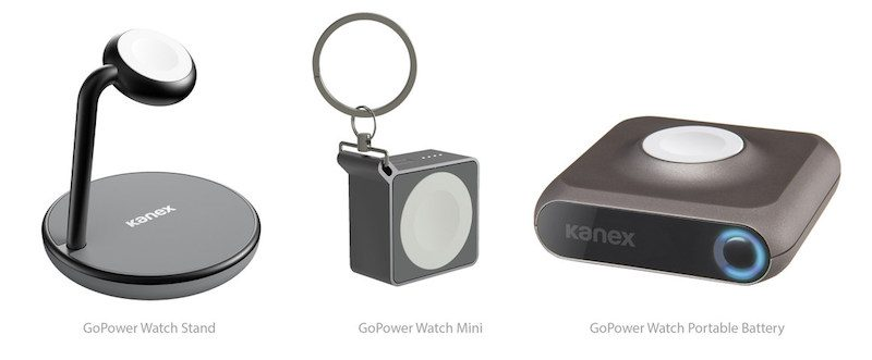Kanex Adds GoPower Watch Accessories
