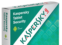 Android Tablet Security via Kaspersky