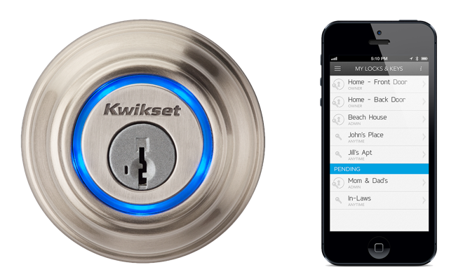 Kwikset and UniKey on Bluetooth Locks