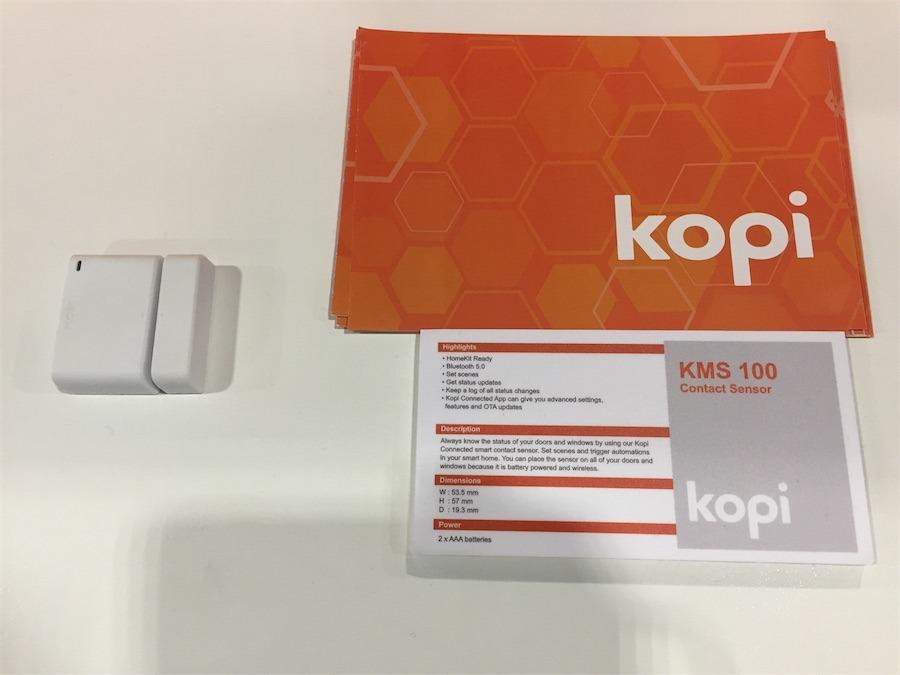 Kopi HomeKit-Enabled Security at CES 2018