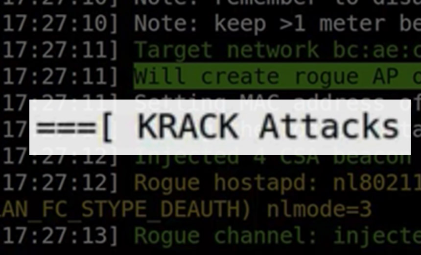 KRACK Attack Affects Wifi!