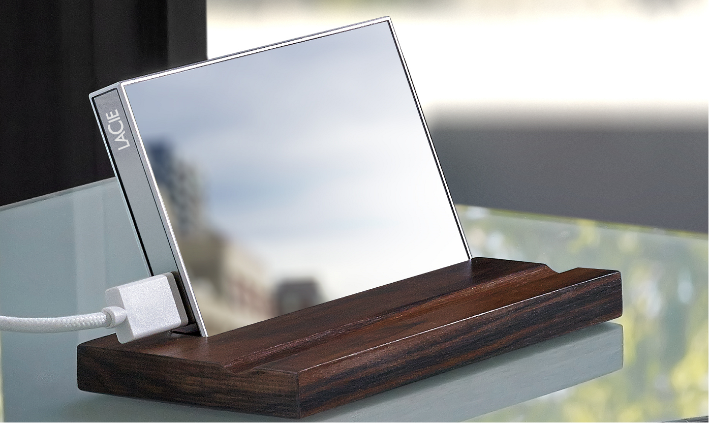 The Reflective LaCie HDD