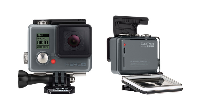 GoPro Launches Hero+ Action Cam
