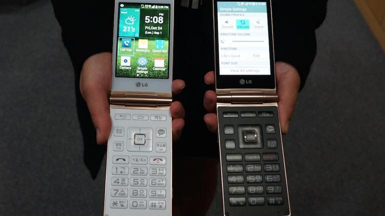 LG Flip Phone Arrives in Europe