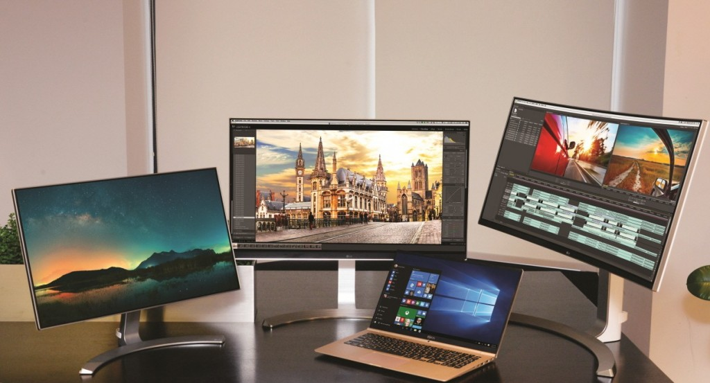 LG Previews CES 2016 Monitors, Laptop