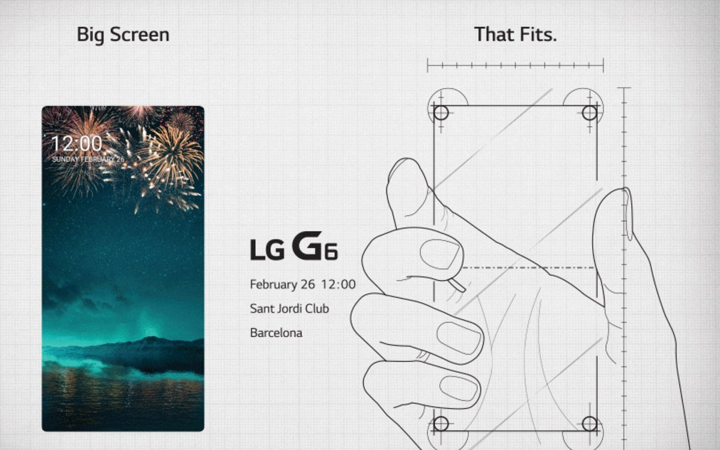 LG Teases G6 With