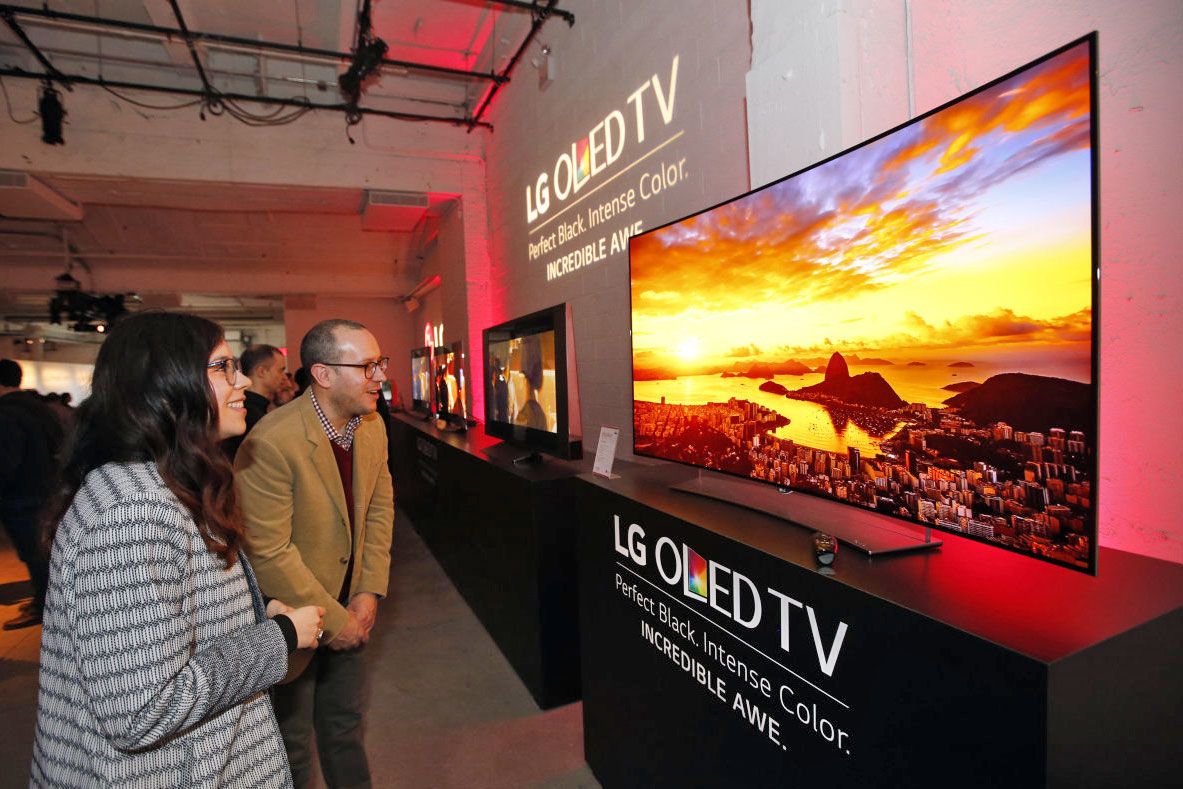 LG Display Goes All Out on OLED