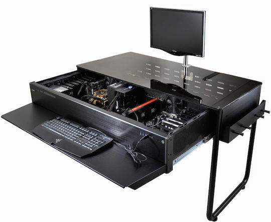 The Desktop PC Case that's also… a Desk