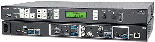 Extron LinkLicense SMP 351 Upgrade Enables Simultaneous Recording of Two Independent Sources