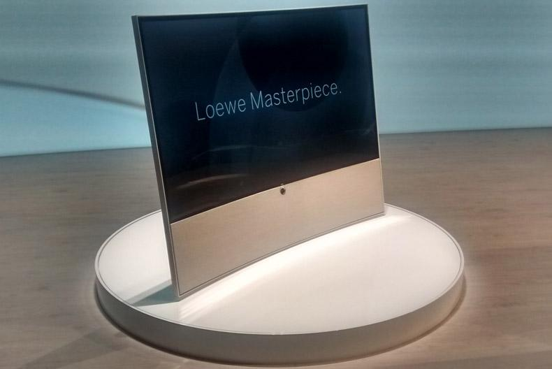 Loewe 4K, Curved TV at IFA 2014
