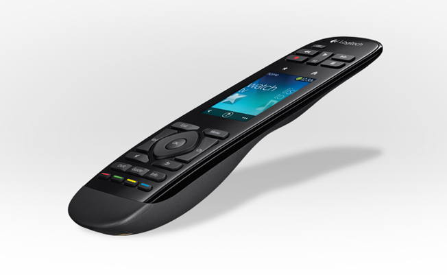 Logitech Combines Touchscreen, Buttons