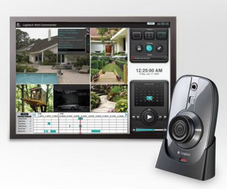 Logitech Debuts Wireless Home-Security System