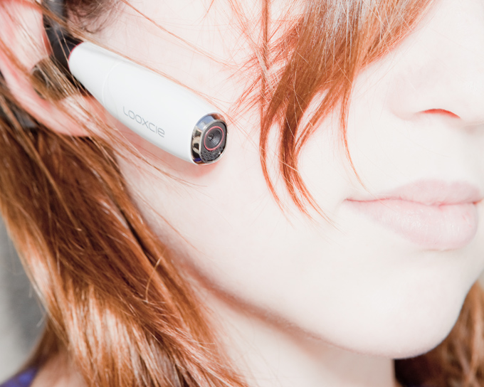 The Earpiece That's a Camera