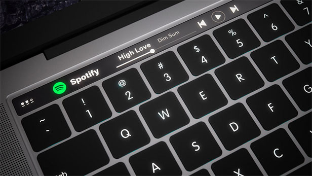 Apple Plans Dynamic Keyboard for Next MacBooks?