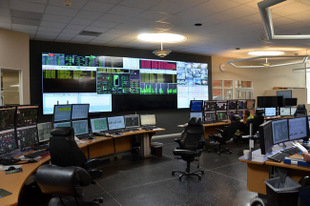 Matrox Mura MPX-Powered 18-Monitor Video Wall in Swedish Plant