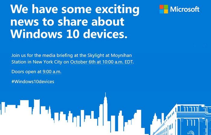 Microsoft October events