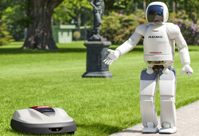 Honda Robot Gardener Arrives in Europe