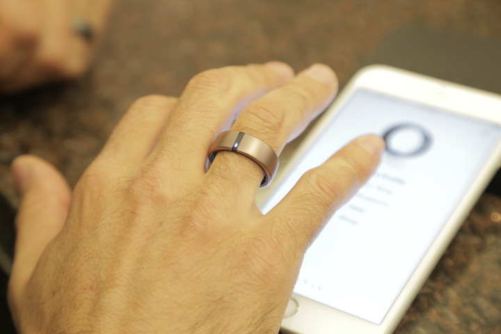 A Fitness Tracker Inside a Ring