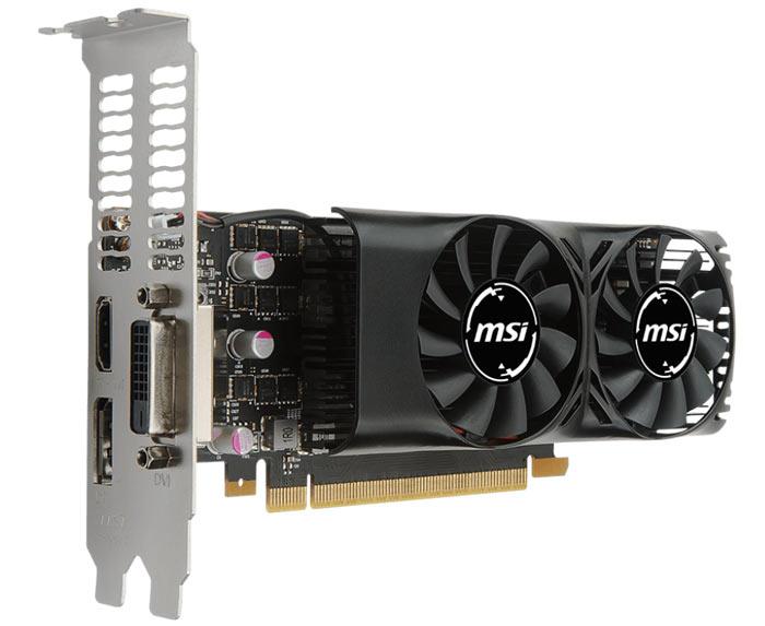 MSI Intros Low Profile GeForce GTX 1050, 1050 Ti