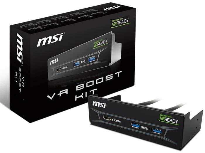 Easy Port Access With MSI VR Boost Kit
