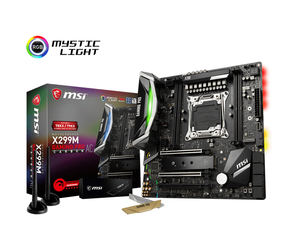 MSI Launches X2999M Gaming Pro Carbon AC