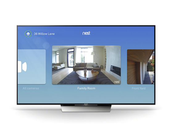 Nest Cam Streams to Android, Apple TV