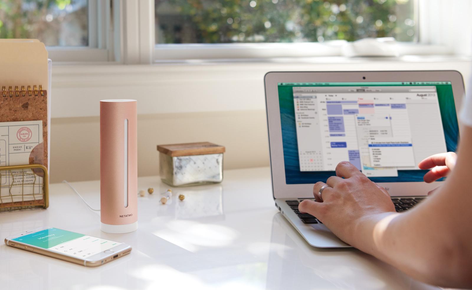 Netatmo Monitors Home Air Quality