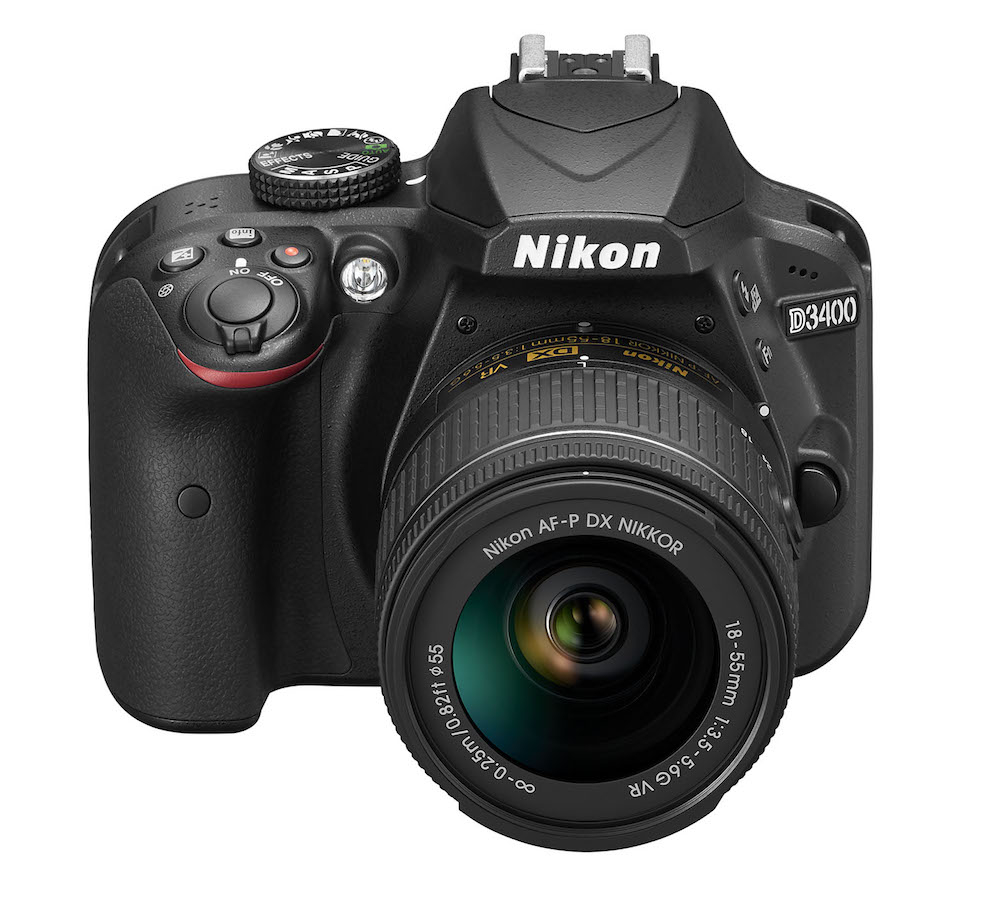 Nikon Intros Entry-Level D3400 DSLR