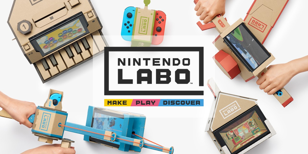 Nintendo Adds Papercraft to Switch
