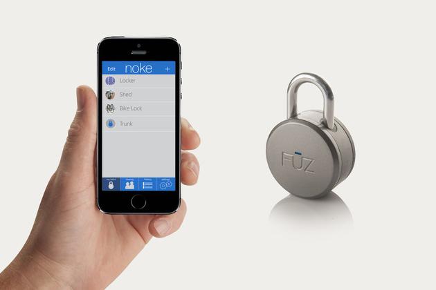 The First Bluetooth Padlock