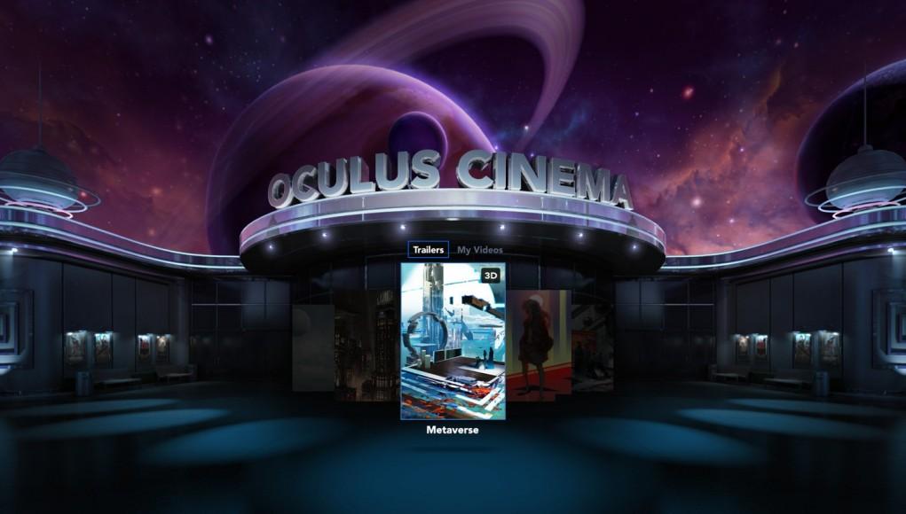 A Virtual Cinema Experience Through Oculus Rift
