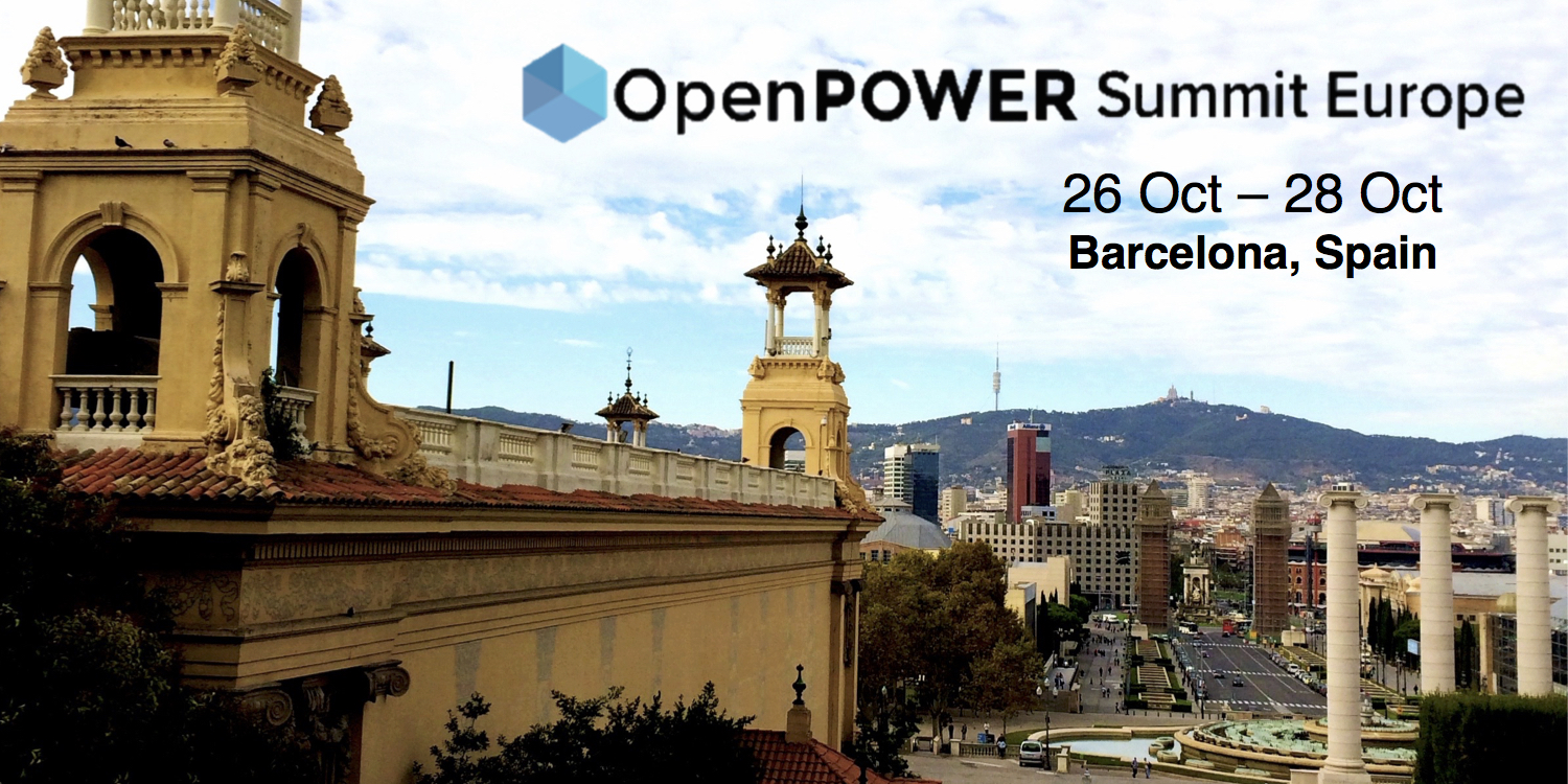 OpenPower Shows Off at European Summit