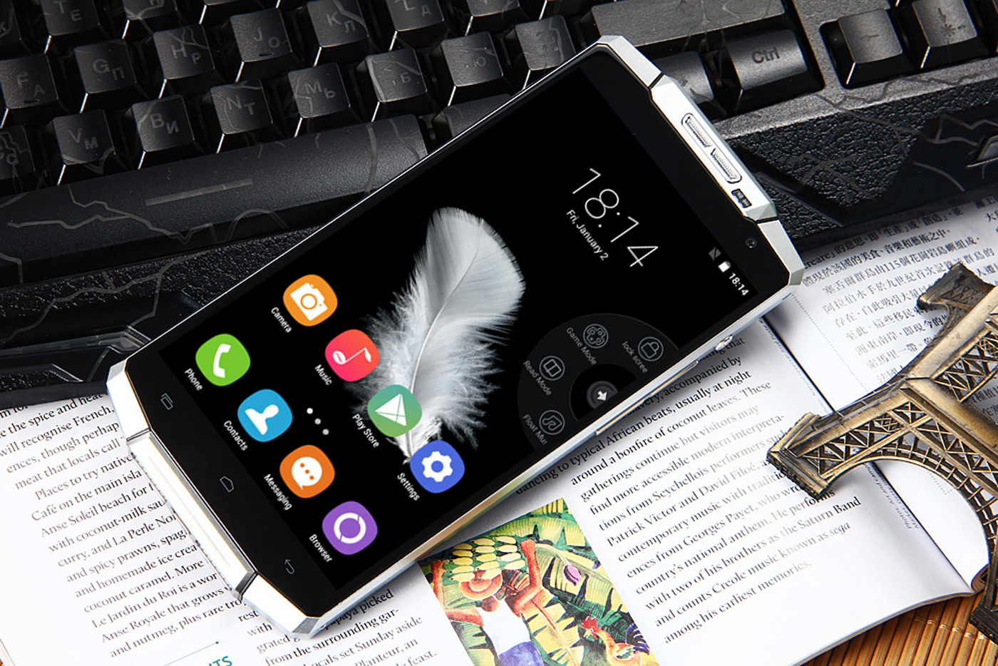 The Smartphone With a 10000mAh Battery