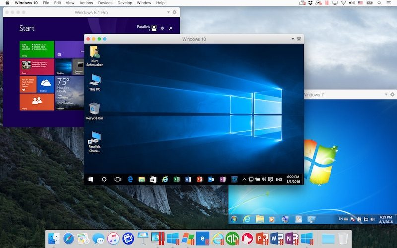 Parallels Updates Desktop for Mac
