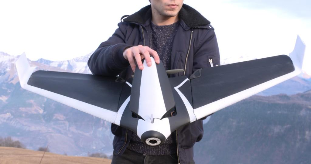 Parrot Opens CES Drone Disco