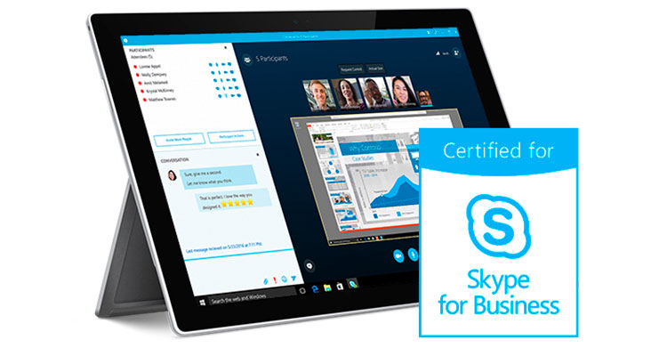 Pexip Infinity Fusion is Skype-Certified