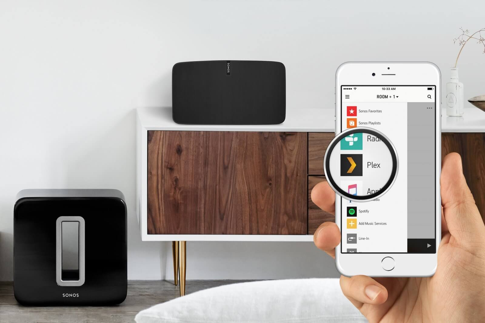 Plex Sonos