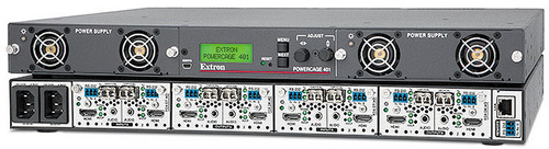 Extron Compact FOX PowerCage Enclosure and Fiber Optic Extender Modules