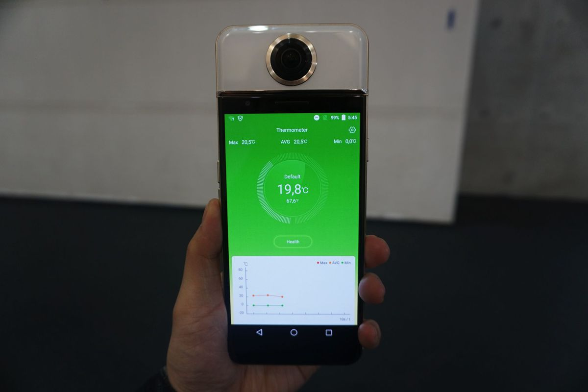 The Phone With a 360-Degree Camera
