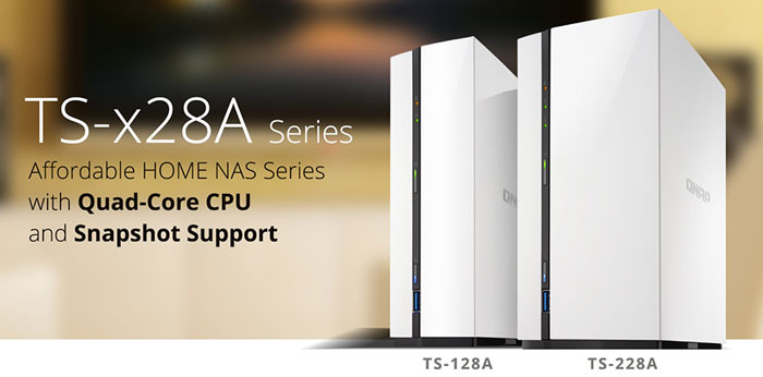 Qnap Intros Entry-Level TS-x28A NAS Series