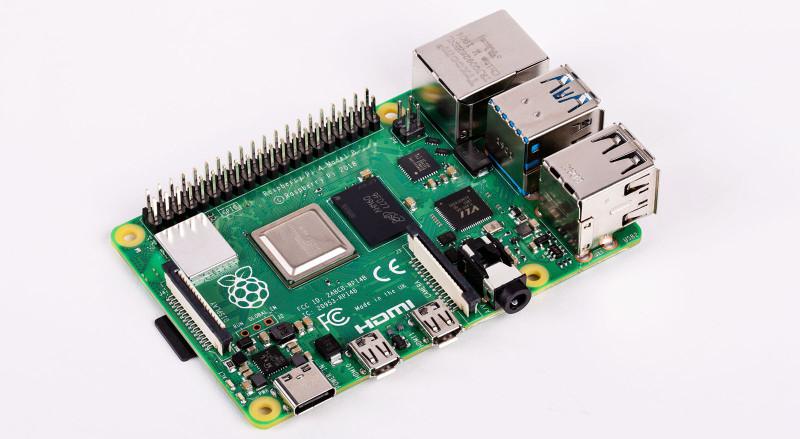 A Raspberry Pi 4 for 4K Video