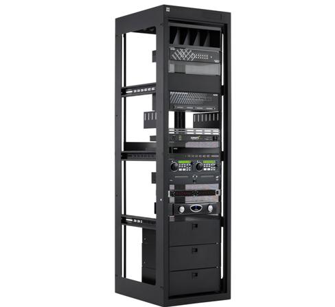 Raxxess Gets AV Rack Series