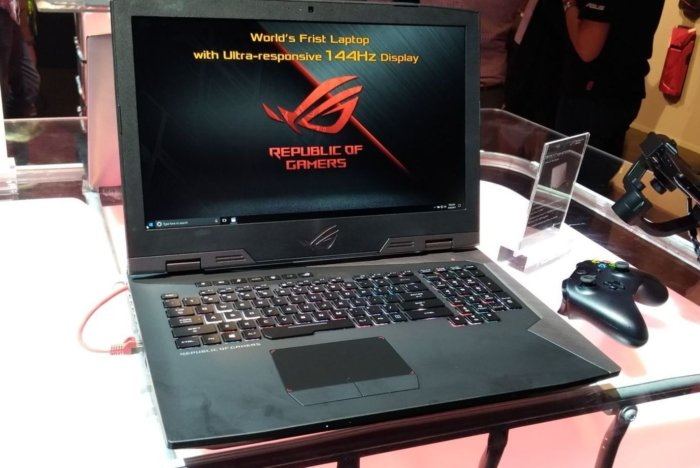 The Asus ROG Laptop With a 144Hz Display