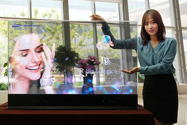 Samsung Reveals Transparent, Mirror OLEDs