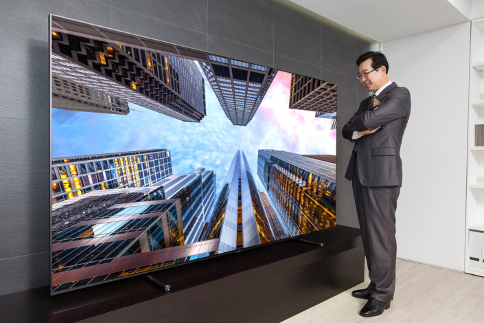 The Samsung 88-inch