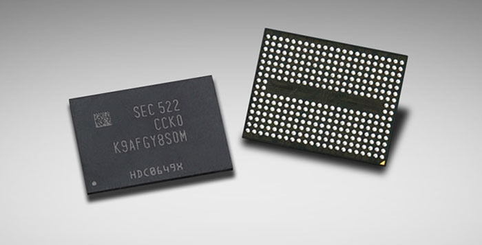Samsung Produces 256-Gb 3D V-NAND