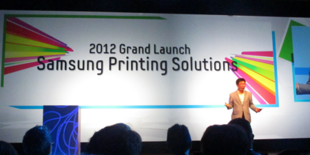 Samsung Launches in Printers