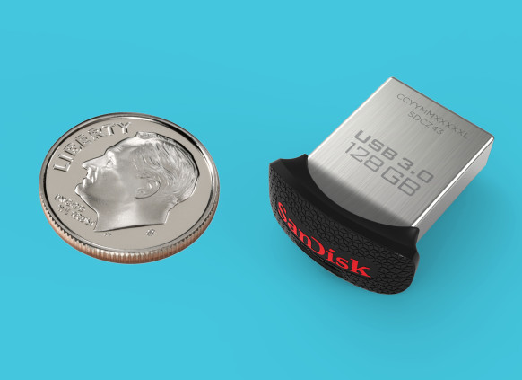 SanDisk Presents Tiny 128GB SSD