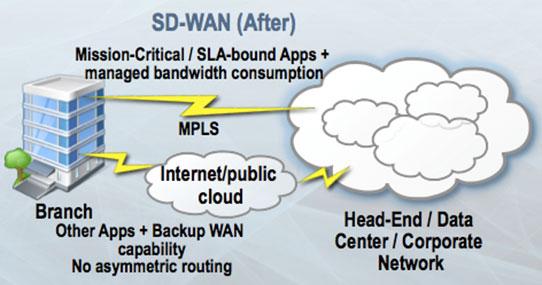 IDC on Enterprise SD-WAN Drivers