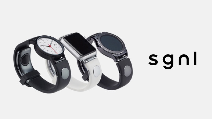 The Sgnl Wristband to Turn a Hand into a Handset